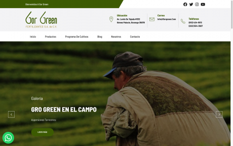 Fertilizantes Gor Green